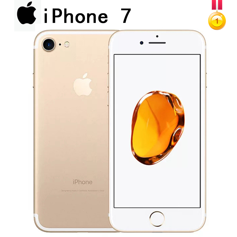 Apple iPhone 7 4G 128GB 2GB WCDMA/LTE/GSM NFC Fingerprint Recognition 12mp Used Unlocked title=