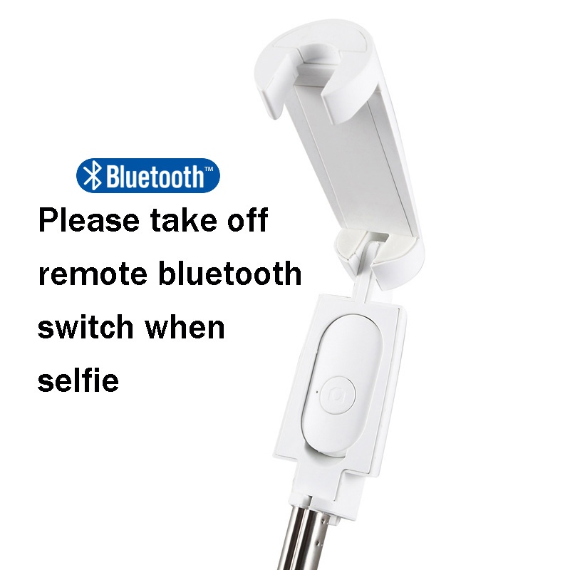 BFOLLOW 3 in 1 Tripod Selfie Stick with Bluetooth Mobile Phone Holder Stand for Huawei Video Call Youtuber Tiktok Zoom Vlogger 4