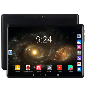 2020 Android 8.0 Tablet 10.1 Inch 2.5D Glass 4G Phone Call Wifi GPS Bluetooth 6GB+128GB Octa Core Touch Screen Kids Gift Tablet