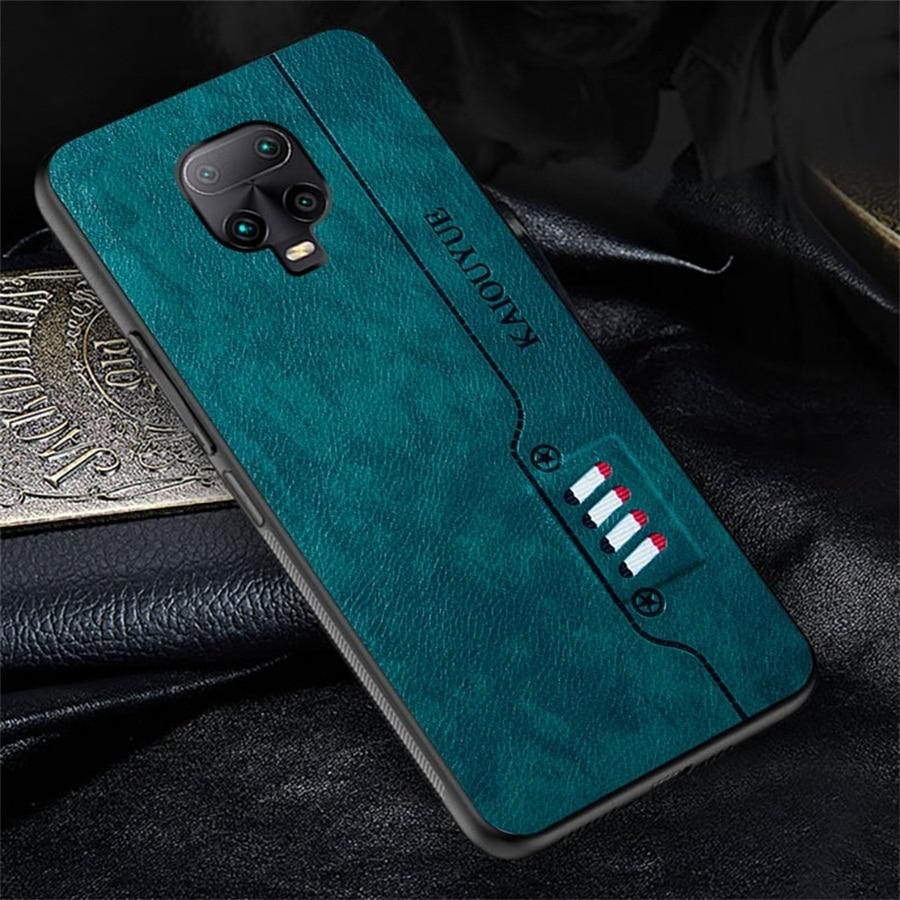 Redmi Note 9s Case Luxury PU Leather Silicone Soft Bumper Coque for Xiaomi Redmi Note 9 Pro Max Cases Cover Readmi Redmy Notes 9