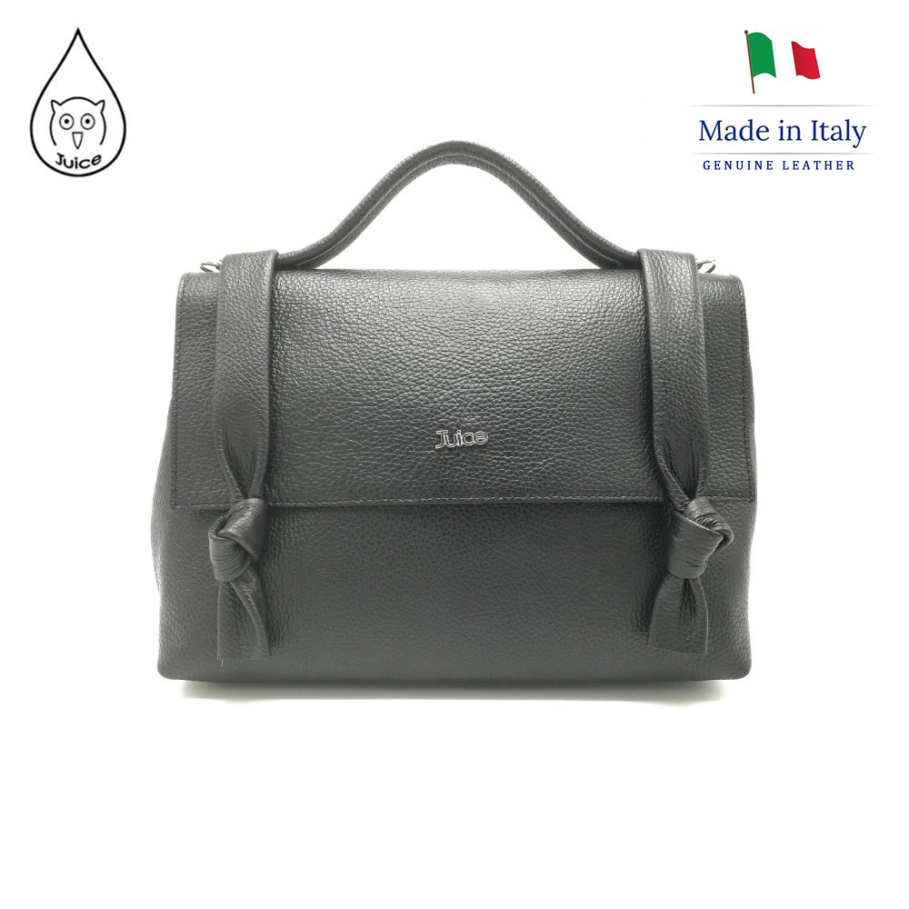 【OUTLET Weekly Special】Juice Brand, Genuine Leather Bag Made In Italy, Casual Shoulder Handbag 087.412
