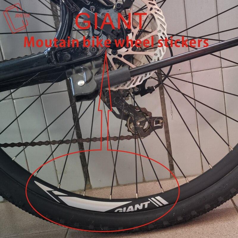 27.5//29 inch Wheel Decals Mountain Bike Wheel Set Rim Stickers 26