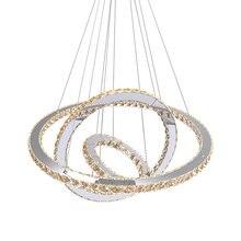 Современные светодиодные хрустальные люстры огни для столовой
