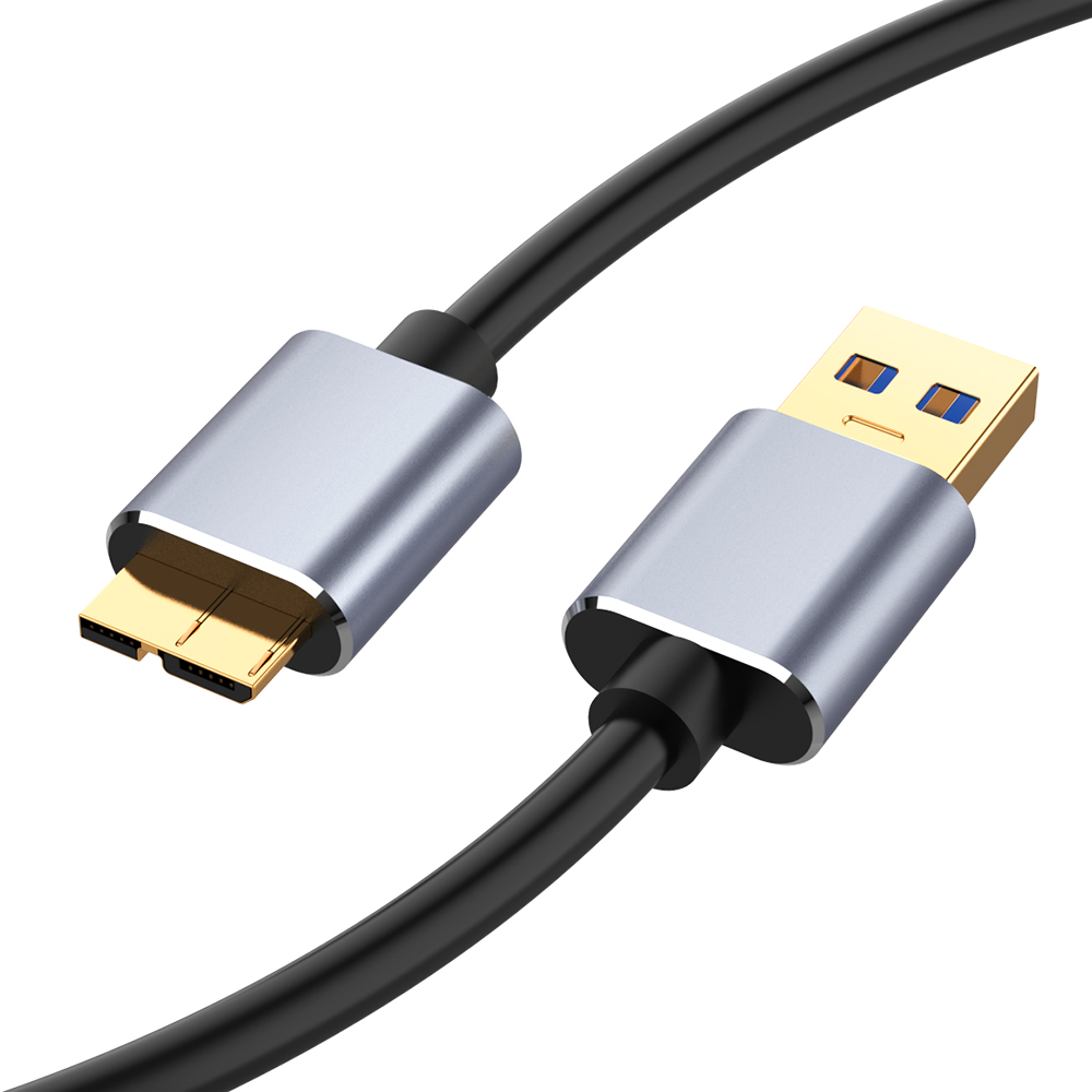 USB 3.0 Cable USB Type A Micro B Data Sync Cable Code Fast Speed   For  Samsung S5 Note 3 External Hard Drive Disk HDD