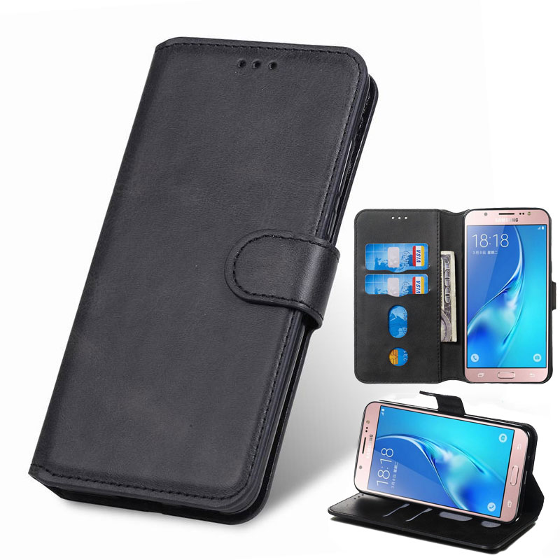Leather Case For <font><b>Samsung</b></font> Galaxy J1 J3 <font><b>2016</b></font> Cover Case <font><b>Samsung</b></font> J5 Prime <font><b>J7</b></font> 2017 J8 J4 J6 Plus 2018 <font><b>Etui</b></font> Wallet Phone Cases 360 image