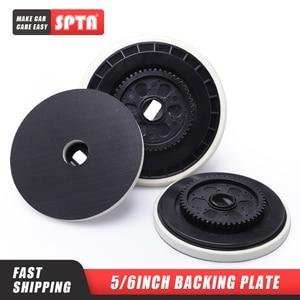 Image 1 - SPTA 5/6 pulgadas placa de soporte para Felex pulidor reemplazable gancho y bucle cara placa de soporte para rotación forzada pulidor DA
