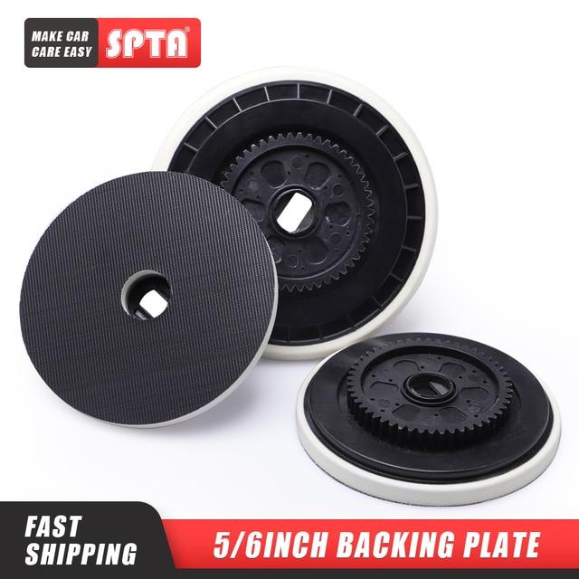 SPTA 5/6 pulgadas placa de soporte para Felex pulidor reemplazable gancho y bucle cara placa de soporte para rotación forzada pulidor DA