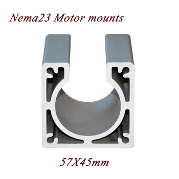 цена на CNC NEMA 23 Stepper Motor Accessories Mounts Bracket Support Shelf nema23 Stepping Motor For 57 Motor Bracket