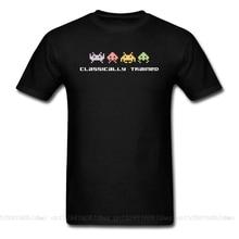 Tyburn clásico entrenamiento Playstation juego Vintage camisetas Android videojuego PC camiseta de ordenador 100% tela de algodón cuello redondo