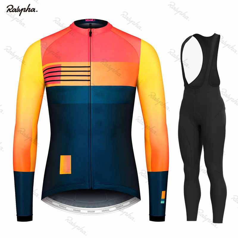 2019 Spring/Autumn Men's Cycling Jersey Set Maillot Ropa Ciclismo Long Sleeve Bike Set MTB Bike Cycle Breathable Bike Uniform