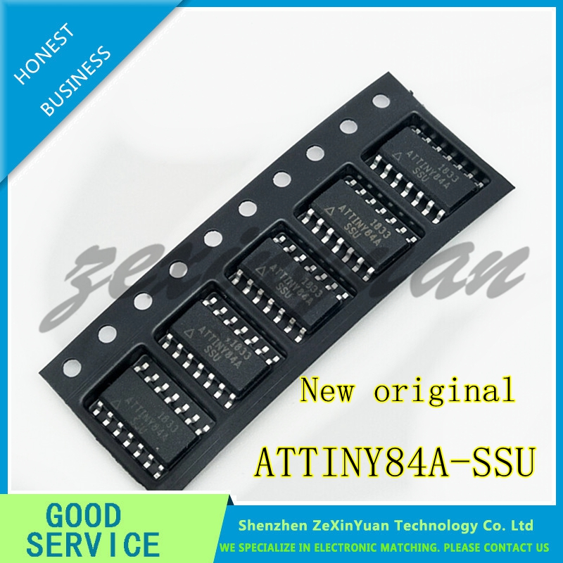 1PCS/LOT ATTINY84A-SSU  ATTINY84A ATTINY84 SOP-14  New Original