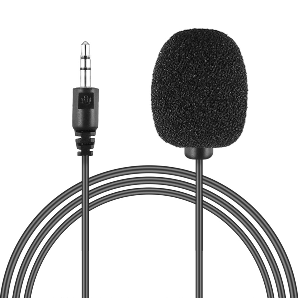 Hot Newest External 3.5mm Clip-on Lapel Lavalier Microphone PC Laptop Jul 6