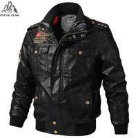 Outono inverno da motocicleta jaqueta de couro dos homens 5xl 6xl jaqueta de couro do plutônio masculino casaco de couro