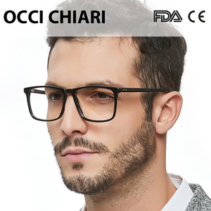 Image 2 - OCCI CHIARI Glasses Frame For Men Optical Computer Eyeglasses Clear Lens Prescription Anti blue light Gaming Eyewear  W COLOPI