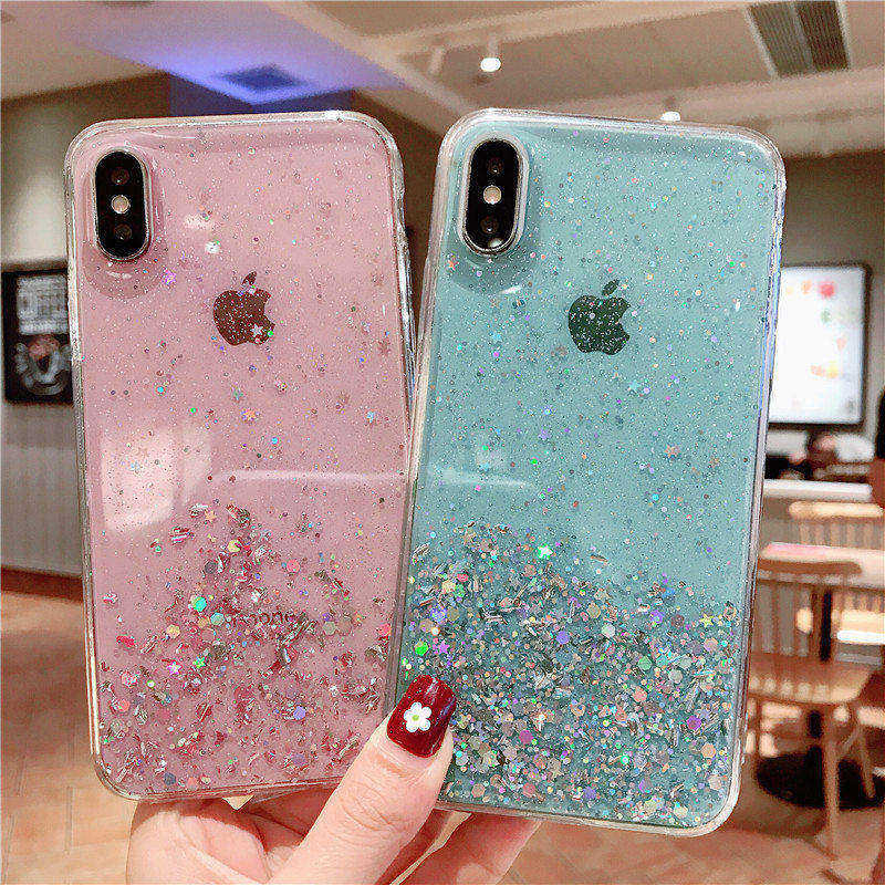 Glitter Bling Case For Samsung Galaxy A30 A20 A50 A10 A70 A40 A60 A80 A90 A20s S8 S9 S10 Note 10 9 8 A6 Plus A9 A7 2018 Case
