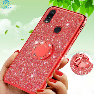 Rhinestone Bling Cases for Xiaomi 10 Pro Note 10 9T CC9 Pro Mi 9 Lite A2 A3 6X 8 SE Glitter Cover for Redmi 8A 7A Note 8 Pro K30(China)