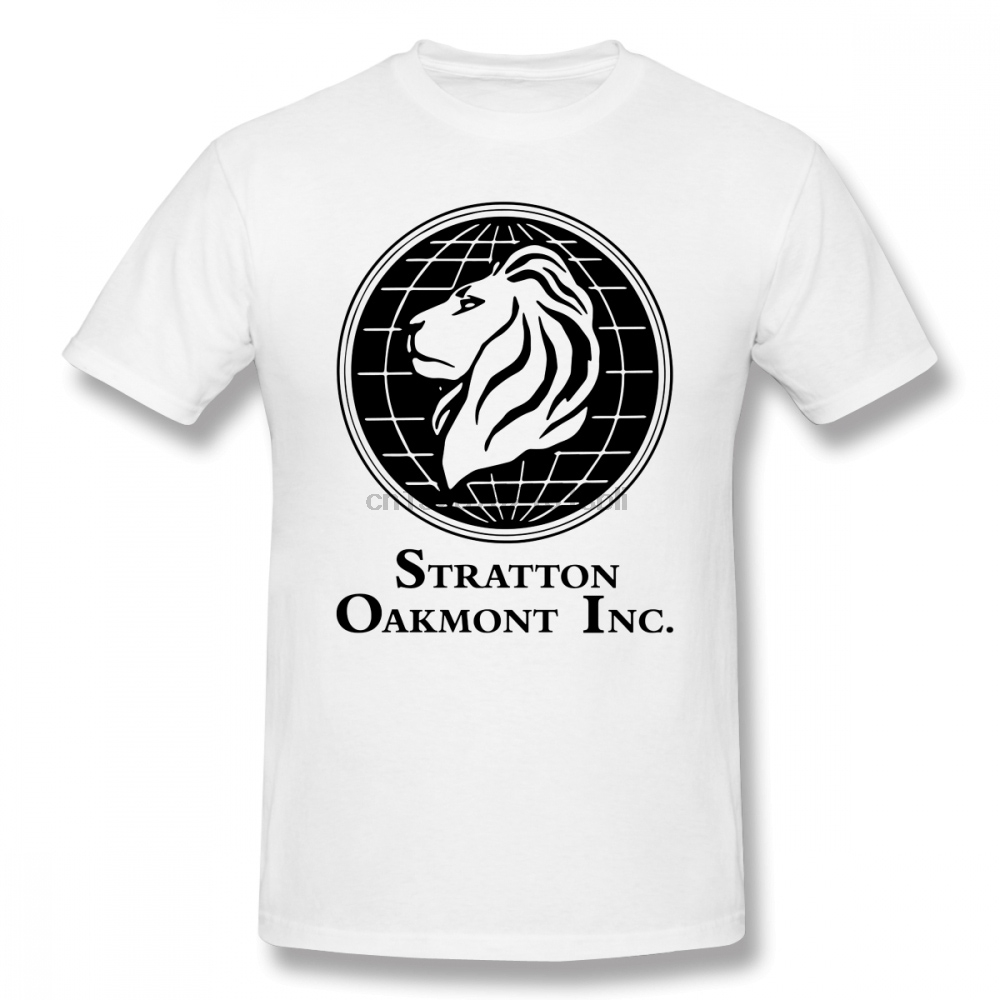 Leonardo Dicaprio T Shirt The Wolf Of Wall Street Stratton Oakmont Inc Scorsese T-Shirt Oversized Streetwear Tee Shirt Tshirt