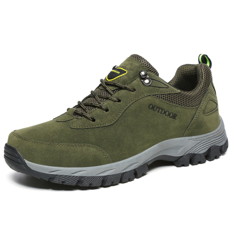 PUPUDA men casual shoes Autumn Winter new sneakers men hiking shoes Classic outdoor non-slip sport shoes big size 12.5 fashion Lahore