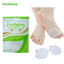 2Pcs Silicone Gel Orthopedic Metatarsal Rings Hammer Toe Separator Correction Straightener Feet Care Shoes Cushion Pads C140