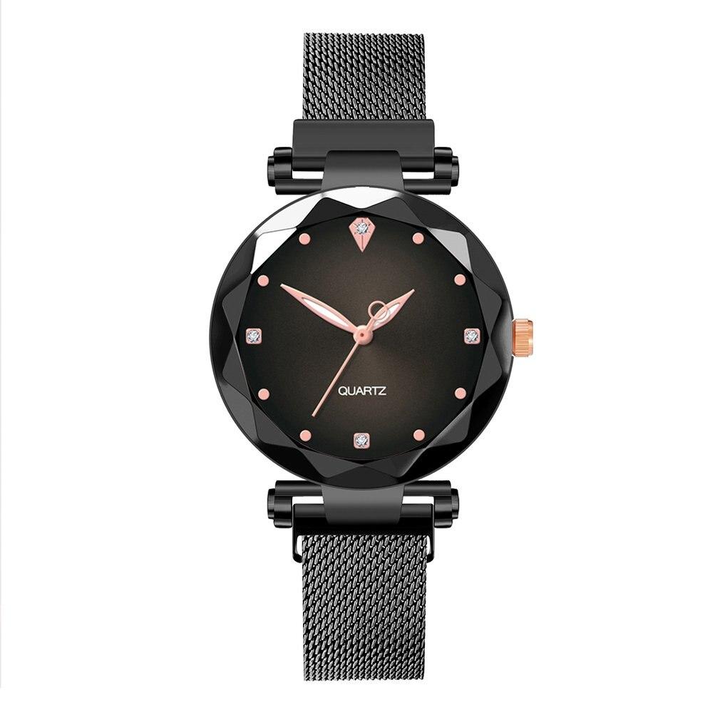 ZA50 Fashionable Slim Watch Women Waterproof Mesh Luxury Watches Date Quartz Clock Watches For Ladies
