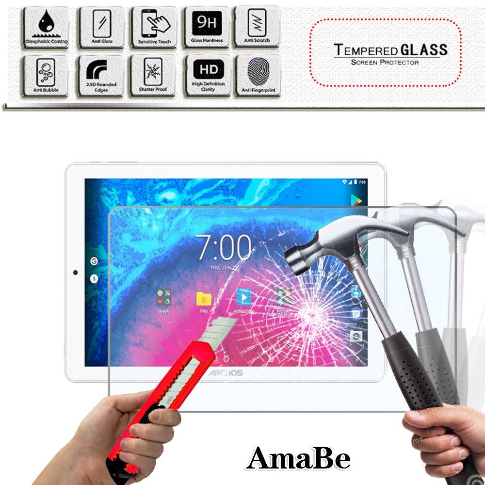 Защита для экрана из закаленного стекла с защитой от царапин для ARCHOS 101d Neon/101f Neon/Core 101 3G/V2 Защитная пленка для планшета, защитное стекло