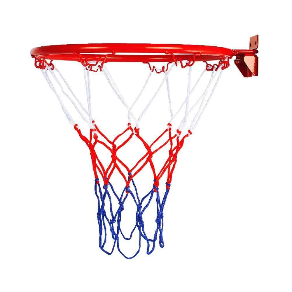 高品質 32 センチメートルバスケットボールウォールマウント目標とフープリムネット屋外屋内用