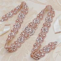 3 Colors Crystal Pearls Bridal Belt Flower Floral Wedding Belts Sash Green Black Ivory White Ribbon Bride Party Accessories m159