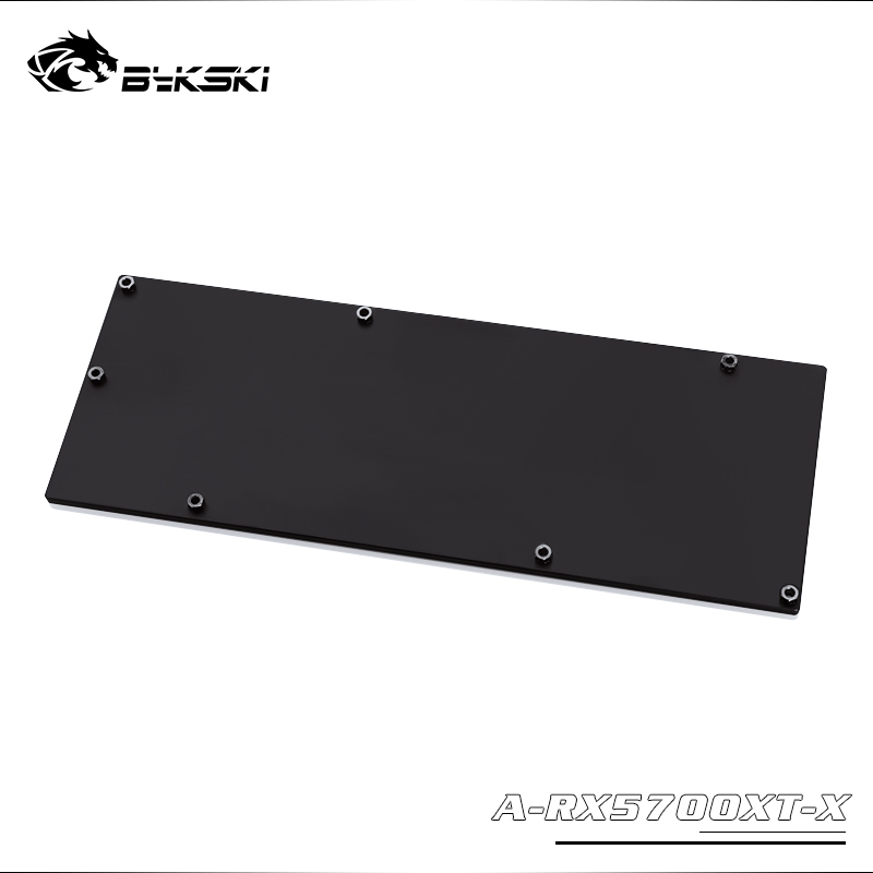 Metal Backplate use for AMD RX5700XT Block / Only support Bykski / Compatible Reference Edition 5700/5700XT Block 3mm Thickness