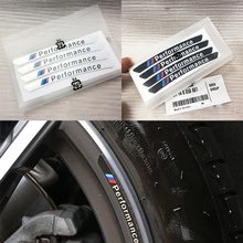 Car Decal Sticker Wheels Rims Racing Car Sticker Performance For BMW e46 e90 e60 e39 f10 f30 e36 f20 e87 x5 e70 e30 e92 g30 e34 for bmw x5 x3 x6 e46 e39 e90 e60 e36 f30 f30 e34 f10 f20 e92 e38 e91 e53 e87 car diy sticker interior decoration led cold light