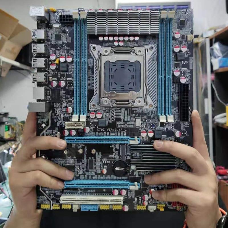 MACHINIST X79 LGA2011 motherboard LGA 2011 ATX USB3.0 SATA3 PCI-E NVME M.2 SSD support DDR3 REG ECC memory Xeon E5 V3 processor 1