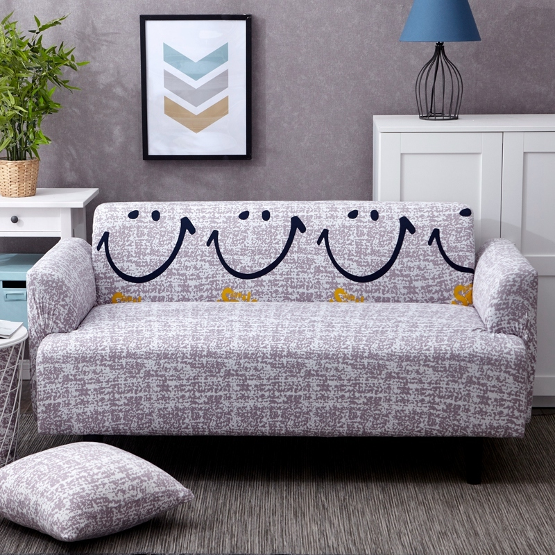 Elastic sofa cover 3 seater Slipcovers Sofa Covers For Living Room Spandex Cheap Sectional Couch Cover
