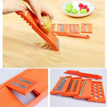 цена на 7pcs Set Fruit Vegetable Potato Slicer Cutter 7 Style Multi Functional Carrot Chopper Peeler Kitchen Food Tool Set