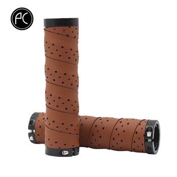 PCycling empuñaduras de bicicleta Punch PU cómodo antideslizante absorción de humedad manillar cinta MTB bicicleta de carretera ultraligero ciclismo piezas