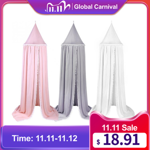 Image 1 - Anti Mosquito Cotton Baby Canopy Mosquito Net Princess Bed Canopy Girls Room Decoration Bed Canopy Pest control Reject Net