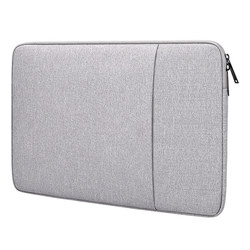 Portable Notebook Sleeve Tas Laptop 13.3 14 15 15.6 Inci Outdoor Perjalanan Laptop Case untuk MacBook Pro Xiaomi Asus HP acer Lenovo