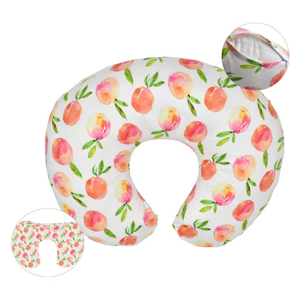 Breastfeeding Nursing Pillow Case Maternity Feeding Waist Cushion Slipcovers Baby Infant Cuddle Cover Removable Kussensloop