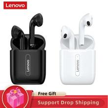 Lenovo x9 sem fio fones de ouvido bluetooth v5.0 fone de ouvido controle de toque esporte tws fones de ouvido sweatproof in-ear fones de ouvido com microfone