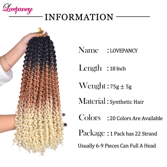 Lovepancy Single Passion Twist Spring Twist Crochet Hair Synthetic Braiding Hair Extensions Hook Braids Hair For African Woman 2