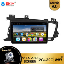 "Ekiy 9 ""Auto Radio Voor Kia Optima 3 K5 2011 2012 2013 2014 Auto Radio Multimedia Video Player Gps geen 2din Android 9.0 Dvd(China)"