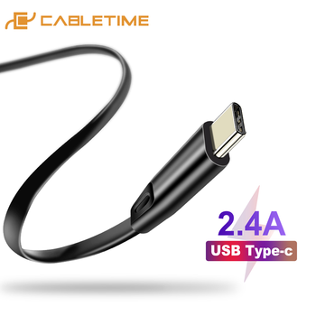 Cabletime USB C Cable for Oneplus 5 USB Cable to Type C Fast Charge Cable for Samsung S9 Huawei P10 Nintendo C143