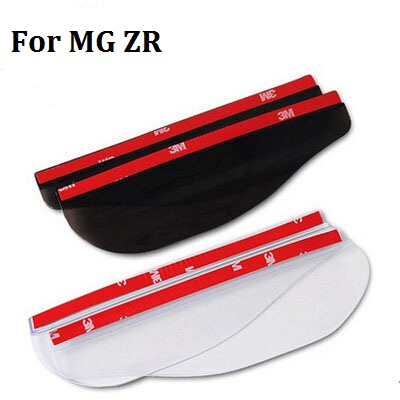 car styling Flexible Car styling Rain Eyebrow Rearview Mirror Rain Gear For MG ZR0 (1pair/bag) car styling image