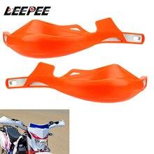 LEEPEE 28MM motosiklet el muhafızları kolu koruyucu Handguard gidon koruma evrensel motosiklet aksesuarları
