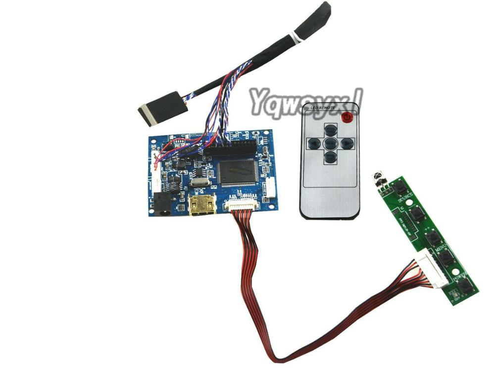 Yqwsyxl HDMI Remote LCD Controller Driver Board Work For 10.1inch 1024x600 LTN101NT02 B101AW06 LP101WSA LCD Screen Display