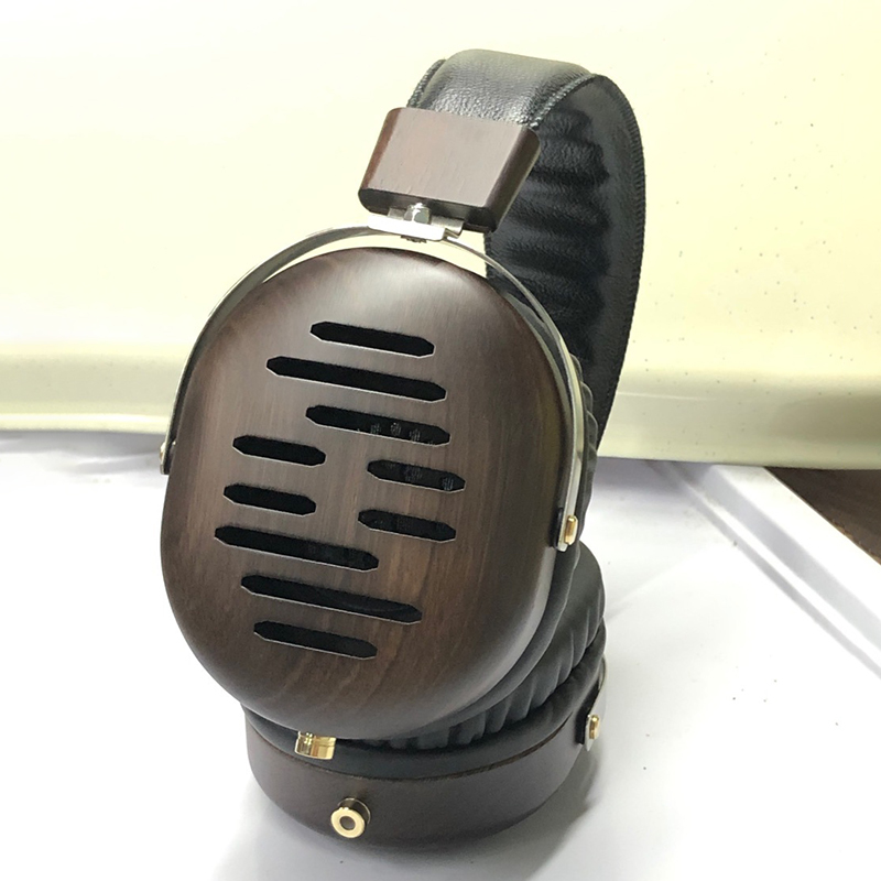 Customized HiFi Large Headphones DIY Wooden Headphones Housing Over Ear Headsets Audiophile DIY Shell Case for 50MM Speaker Unit