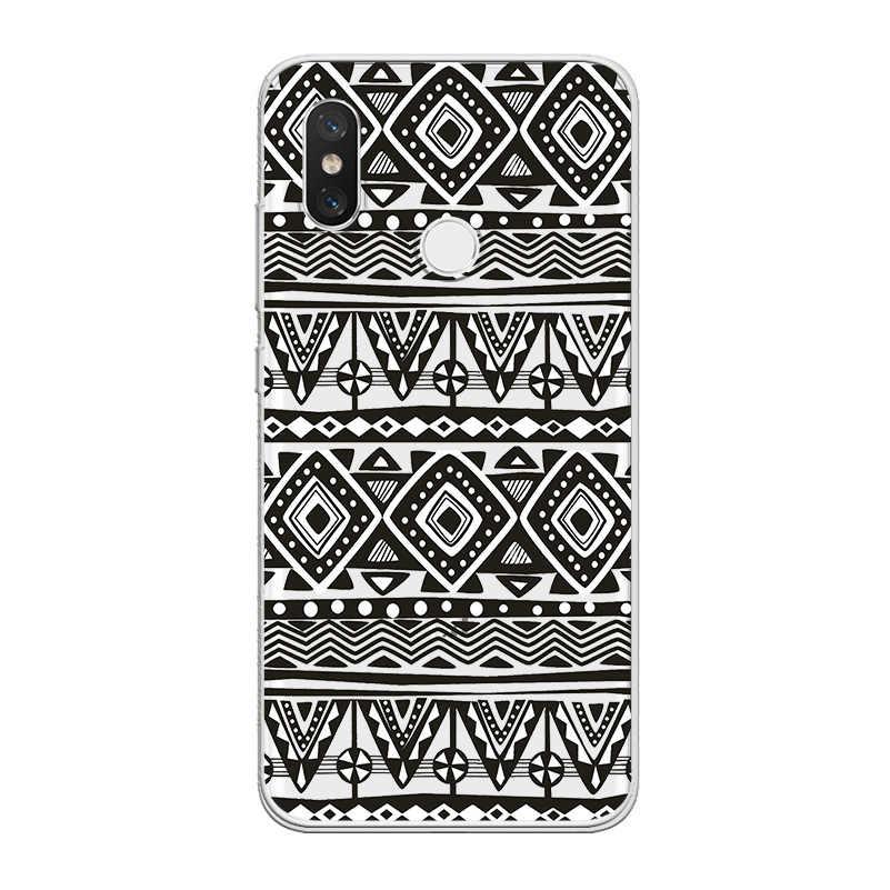 Ciciber Voor Xiaomi Mi 9 8 Lite A2 A1 6 5 X 5C 5S Plus Se Poco Telefoon F1 soft Tpu Case Voor Xiaomi Mix Max 3 2 1 S Pro Totem Fundas