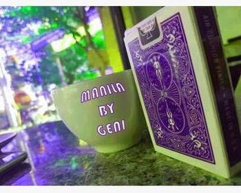 Manila autorstwa Geni-magiczne sztuczki tanie i dobre opinie Metal Unisex ŁATWE DO WYKONANIA Profesjonalne Różne rekwizyty 8-11 lat STARSZE DZIECI 12-15 lat Do magii z bliska