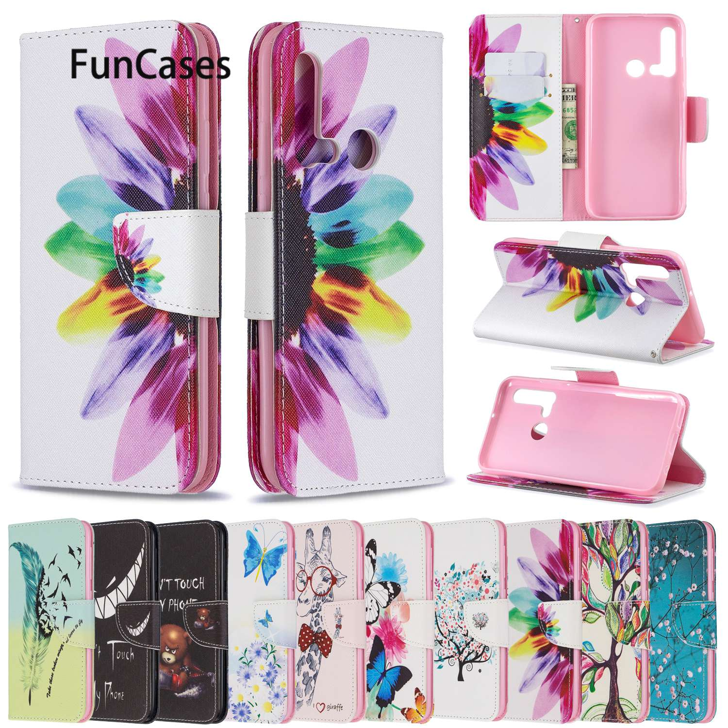 Case For Huawei Mate 30 Pro P20 Lite 2019 P30 Honor 20i 9X Pro Y7 Prime Y9 Nova 5i Mate 30 8A 8S Y6 4E P Smart Z 10i Y5 Plus(China)