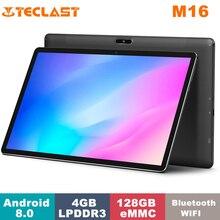 Teclast M16 Tablet MediaTek Helio X27 4GB RAM 128GB ROM Dual Band WiFi 4G 1920*1080 11.6 Inch Android 8.0 Tablet with Keyboard
