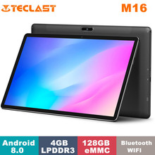 Teclast tablet m16 mediatek helio x27 4gb ram, 128gb rom, banda dupla wifi 4g 1920*1080 11.6 Polegada android 8.0 tablet com teclado