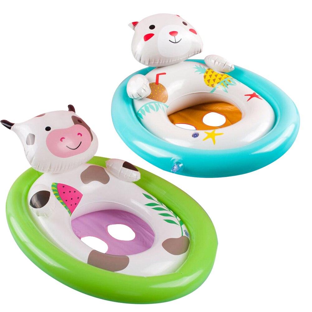 Painstaking Animal Inflatable Baby Swim Seat Circle Swimming Pool Water Toys Float Ring For Baby Kids Children
